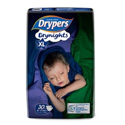 Drypers Drynights size XL (12 - 17kg)