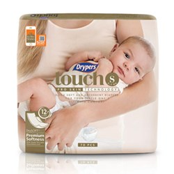 Drypers Touch Size S