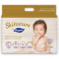 Skinature by Drypers Size L