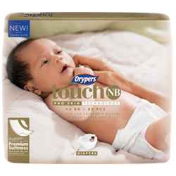 Drypers Touch Newborn