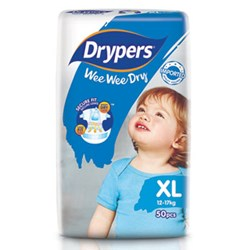Drypers Wee Wee Dry Size XL (Exclusive Singapore Pack)