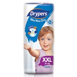 Drypers Wee Wee Dry Size XXL (Exclusive Singapore Pack)